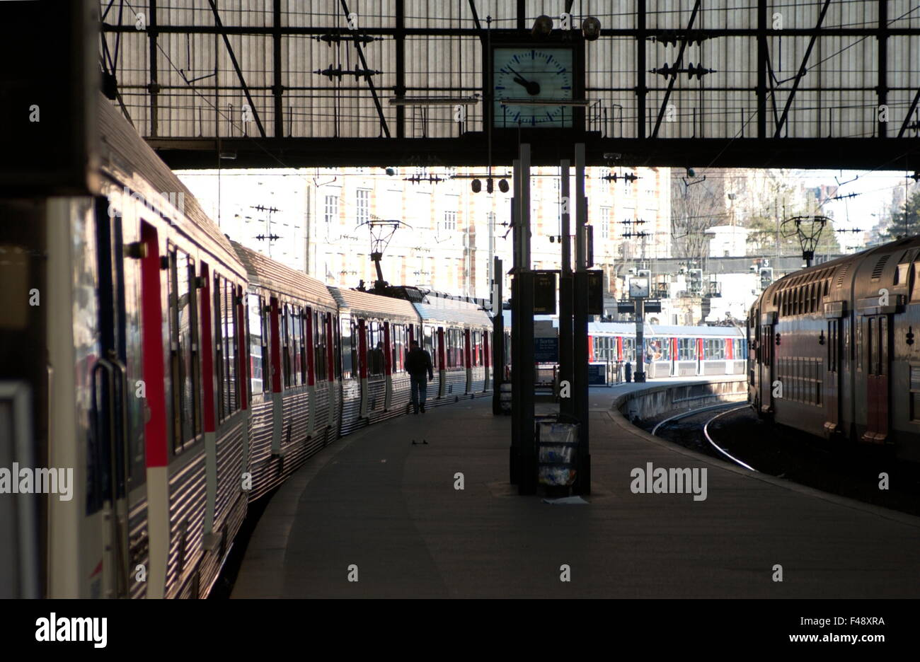 The Gare St Lazare Stock Photos Amp The Gare St Lazare Stock