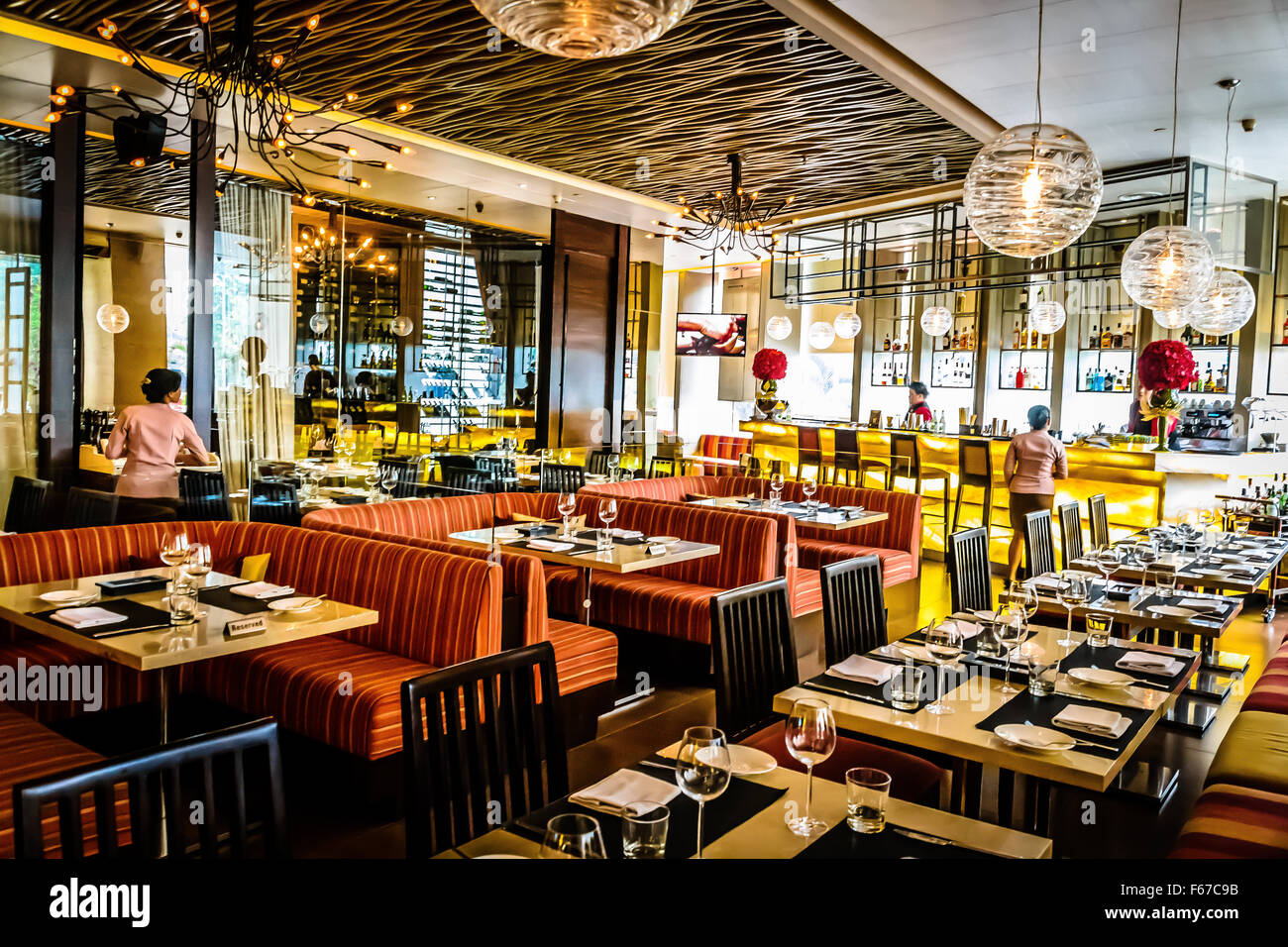 Beautiful Restaurant Interiors