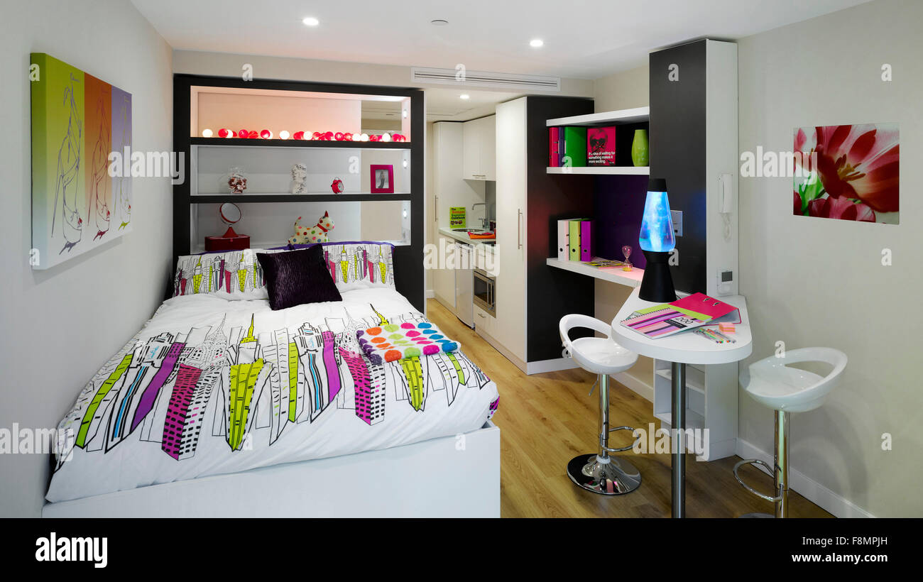Student Castle  Manchester  Student accommodation  Studio apartment     Student Castle  Manchester  Student accommodation  Studio apartment with a  modern interior design
