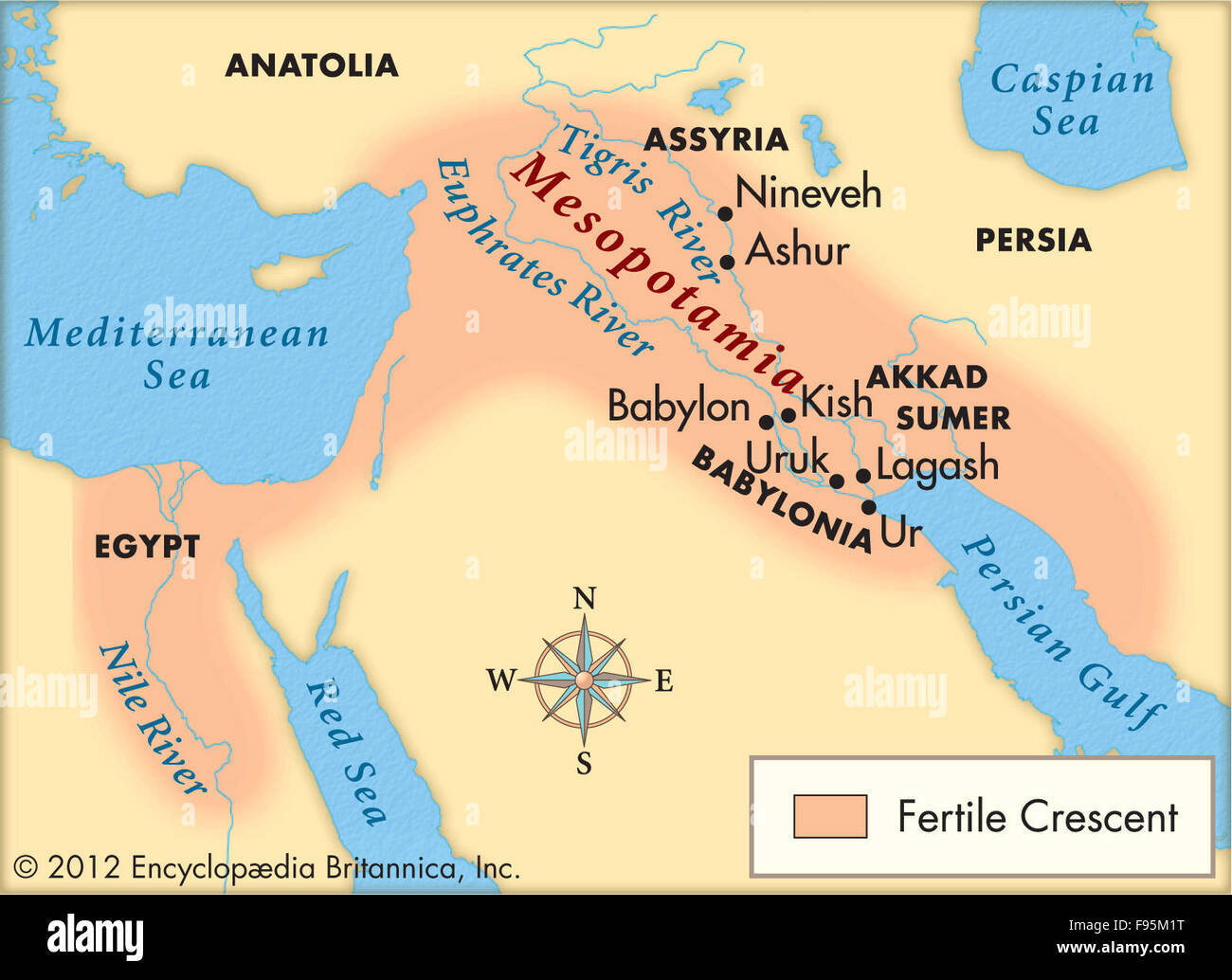 Mesopotamia Stock Photo