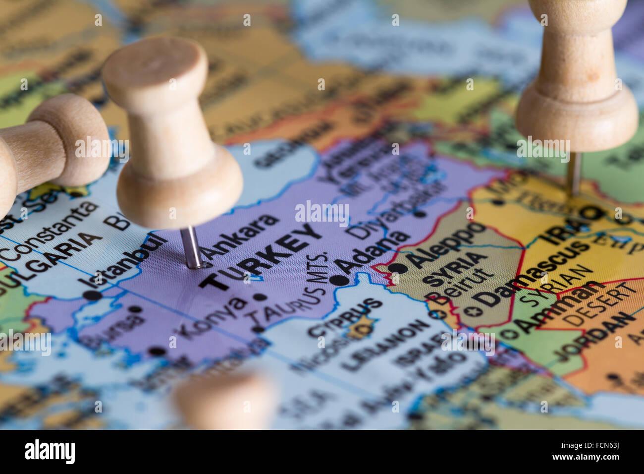 Outline Map Turkey Free image on Pixabay