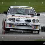 Rally Car Opel Manta 1988 Gold Cup Stock Photo Alamy