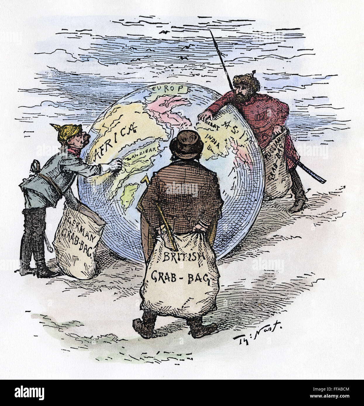 Cartoon Imperialism Nthe World S Plunderers