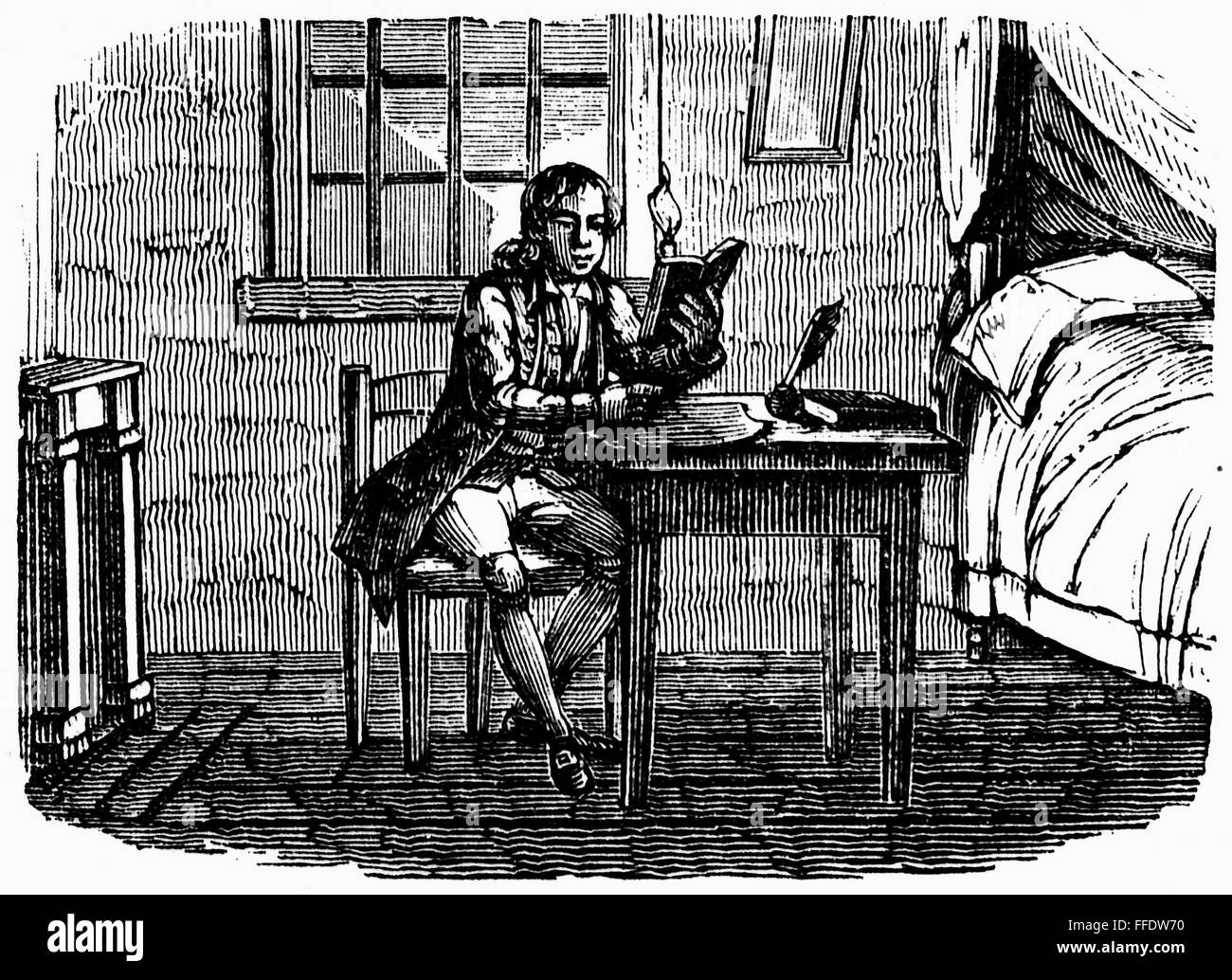 Benjamin Franklin N American Printer