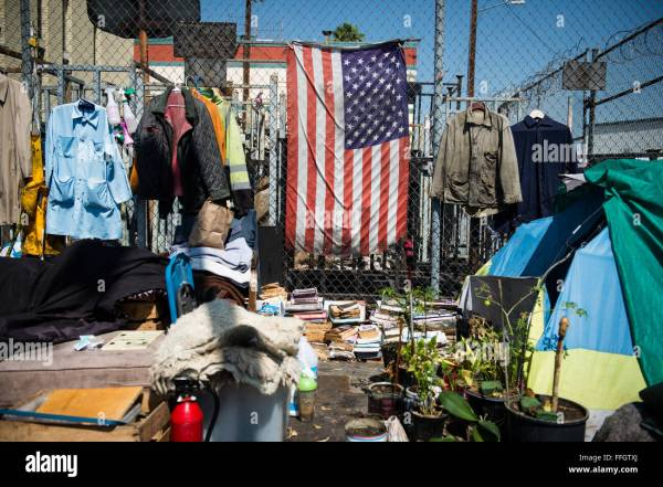 Skid Row is an area of downtown Los Angeles and a main ...
