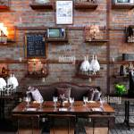 Rustic Restaurant Interior High Resolution Stock Photography And Images Alamy