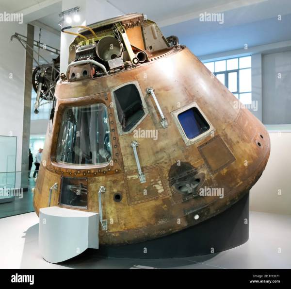 Old 1960s United States space exploration capsule known as ...