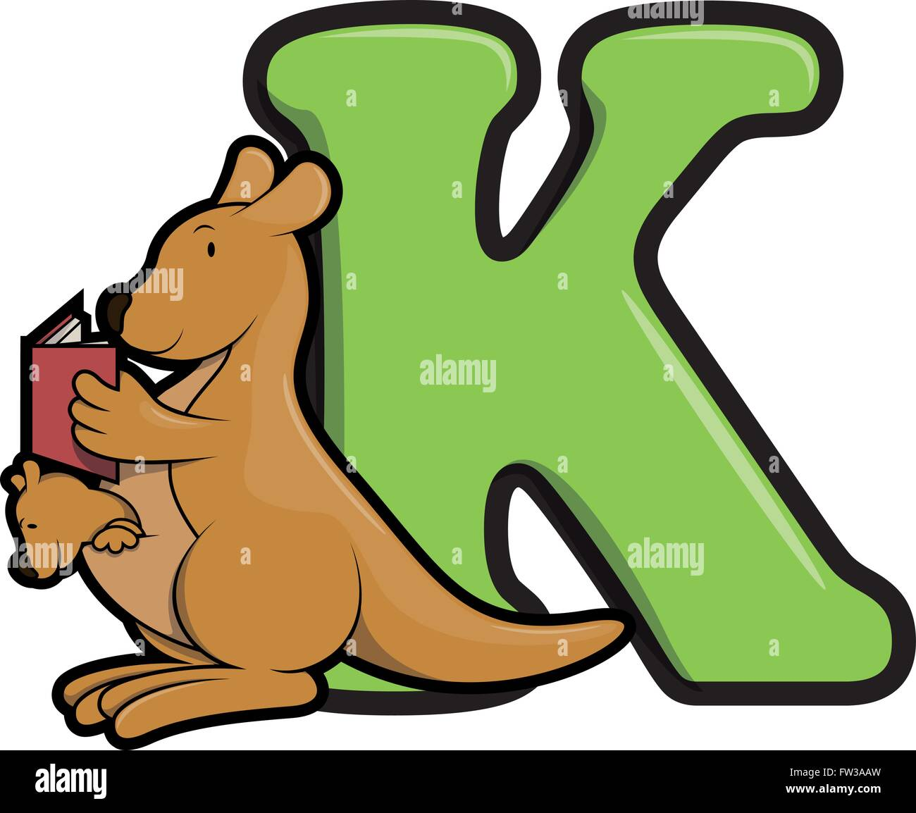 K Is For Kangaroo Stock Photos Amp K Is For Kangaroo Stock