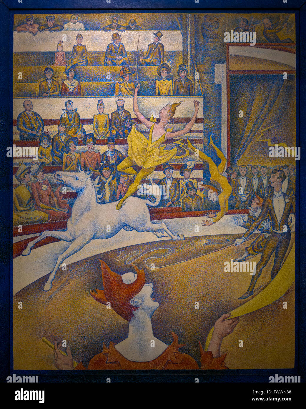 The Circus Cirque By Georges Seurat Musee D Orsay