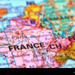 France Country In Europe On The World Map Stock Photo Alamy