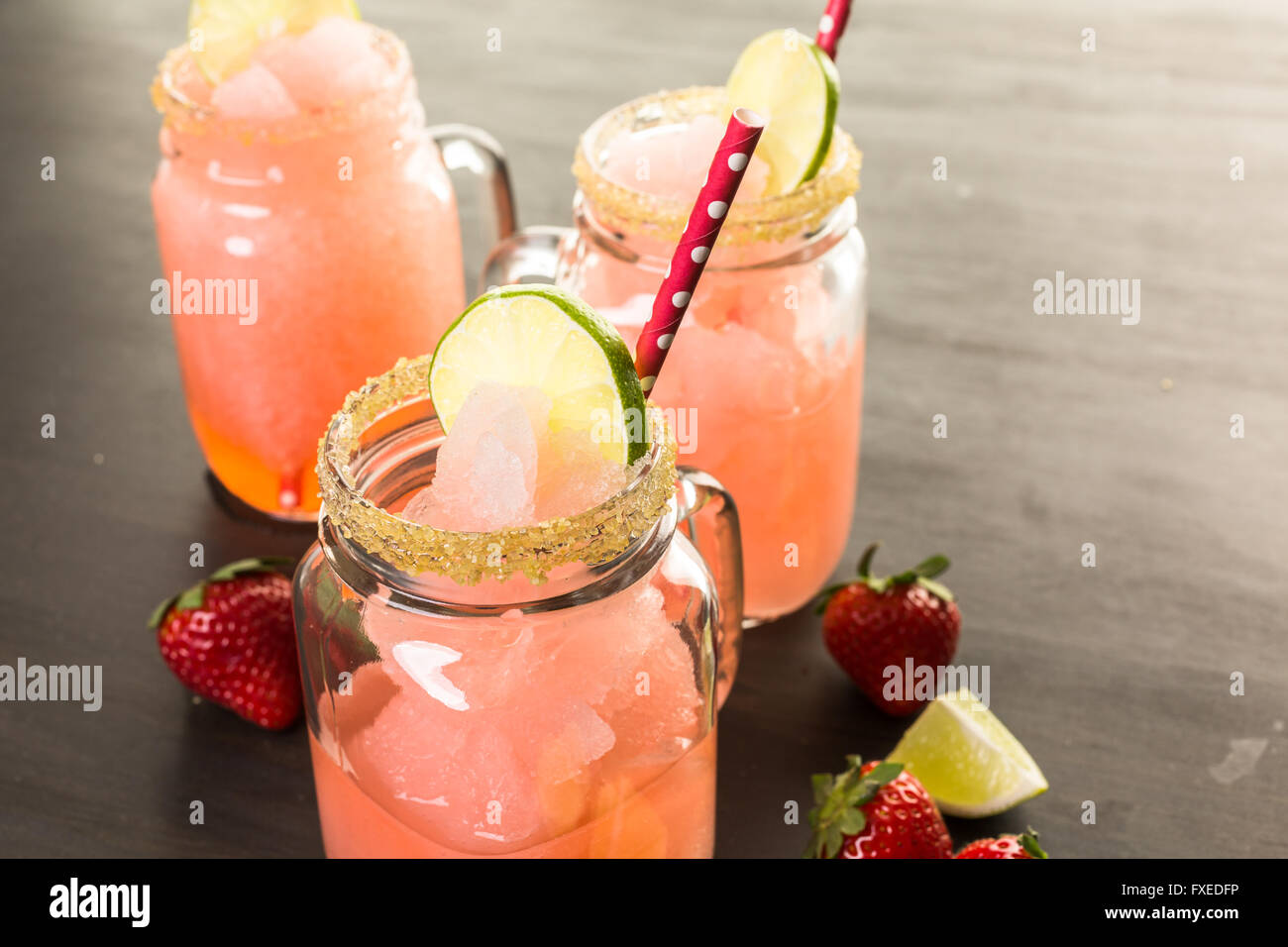 Strawberry Margarita Jar
