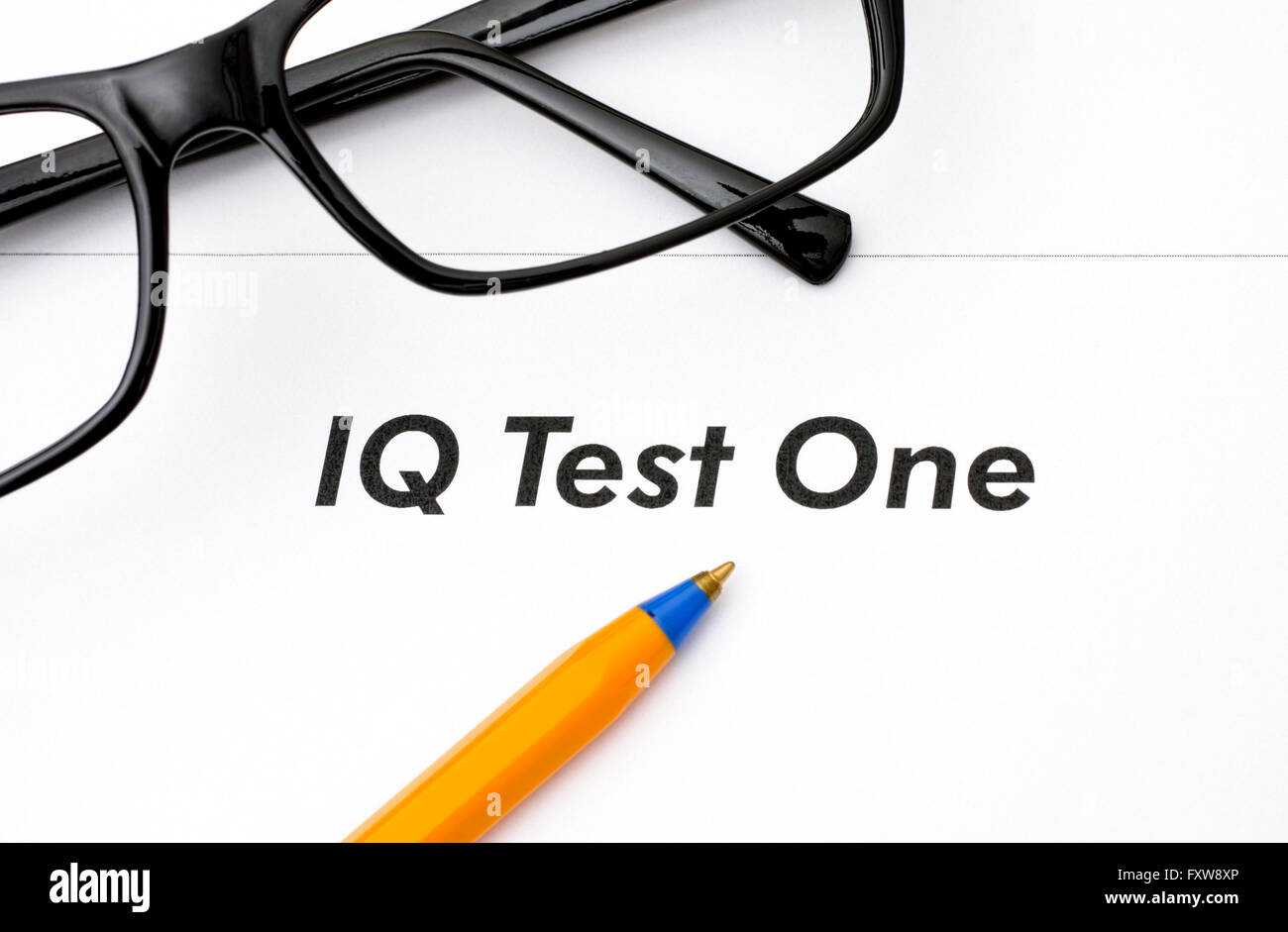 Iq Test Stock Photos Amp Iq Test Stock Images