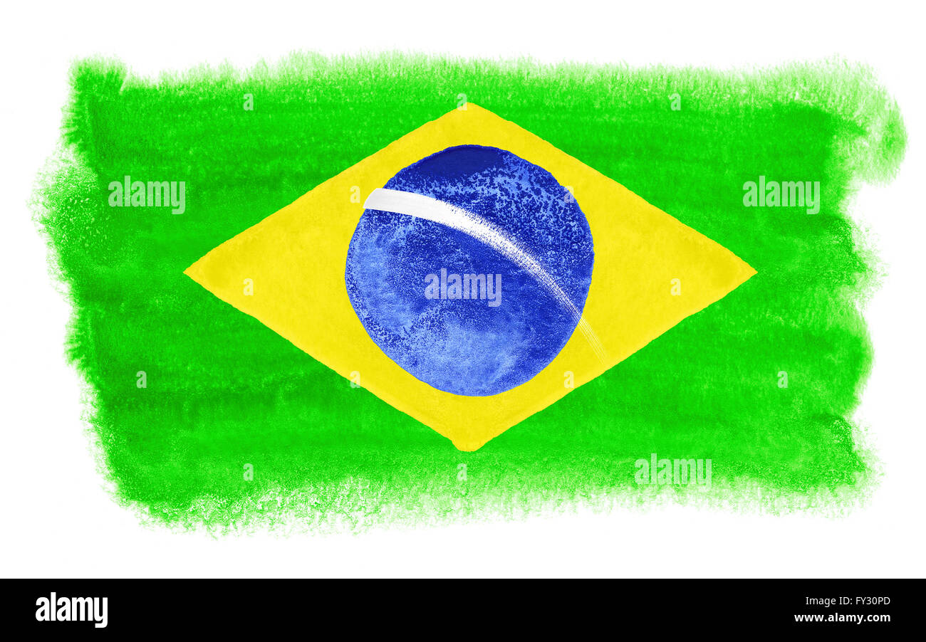 Brazilian Flag Pictures Color