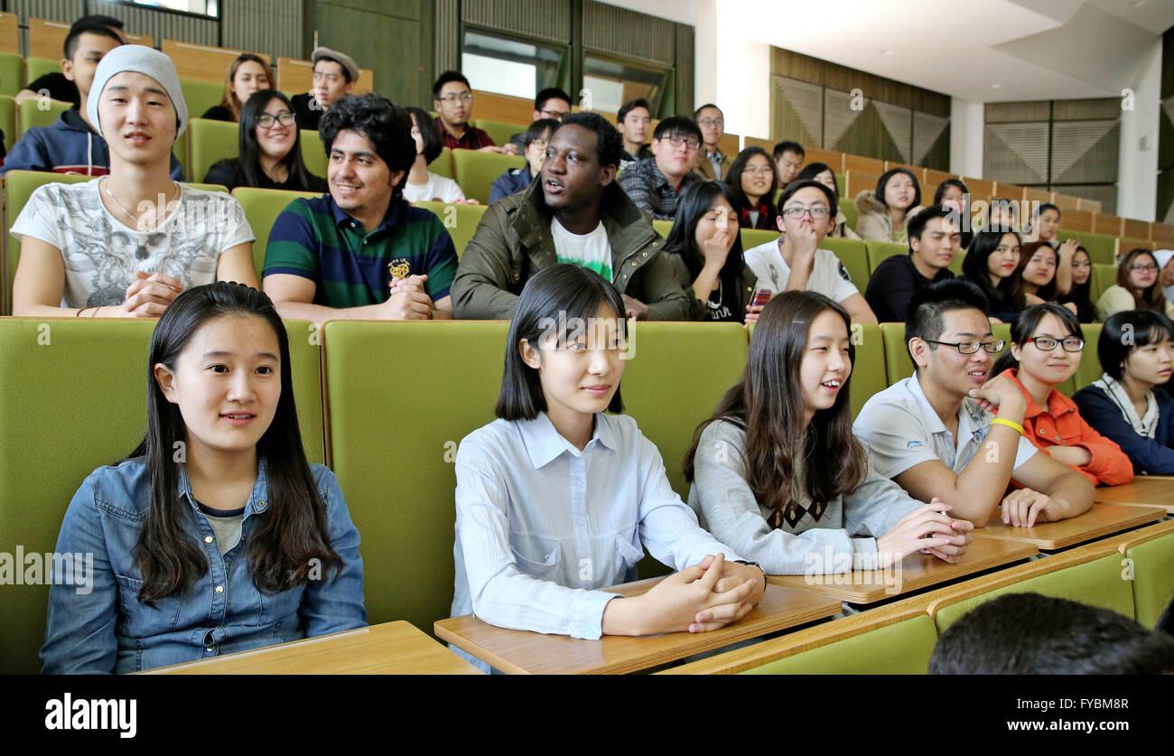 Zwickau Germany 08th Apr Chinese High School