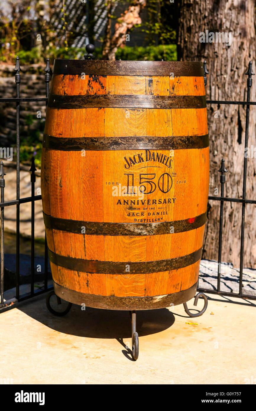 Jack Daniels 150th Anniversary Oak Barrel At The