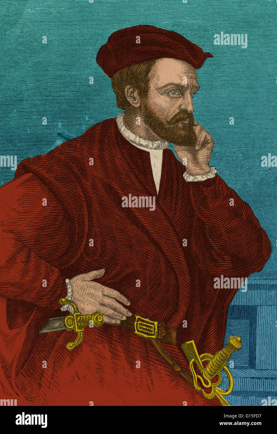 Jacques Cartier  1491 1557  was a French explorer who claimed Canada     Jacques Cartier  1491 1557  was a French explorer who claimed Canada for  France  He was the first European to describe and map the Gulf of Saint  Lawrence