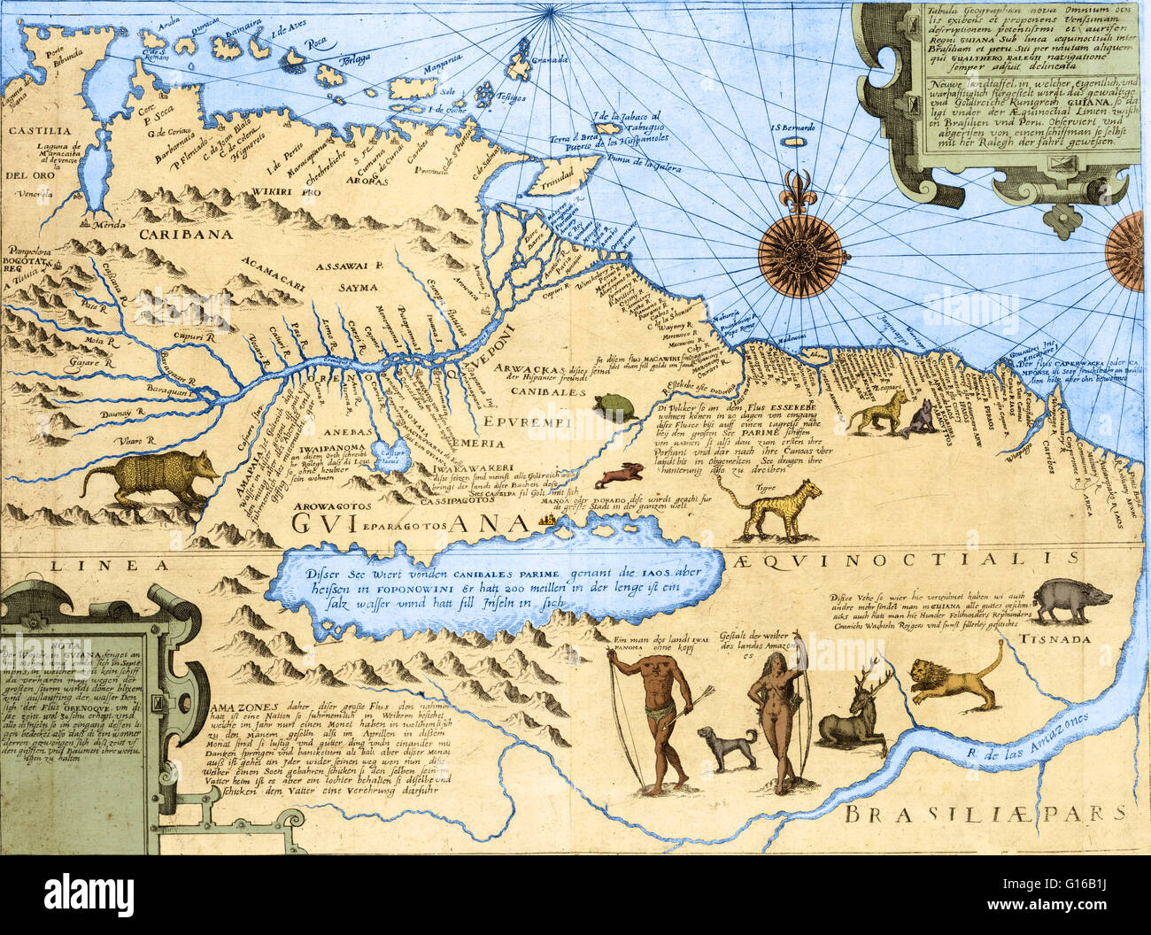 Map Of Brazil Amazon River High Resolution Stock Photography And Images Alamy