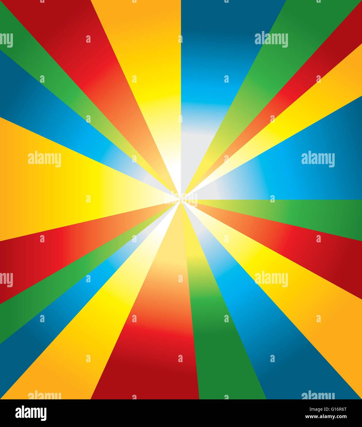 Colored Abstract Background With Red Blue Yellow And