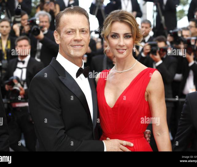 Rocco Siffredi And Rozca Tassi Attending The Money Monster Premiere During The 69th Cannes Film Festival At The Palais Des Festivals In Cannes On May 12