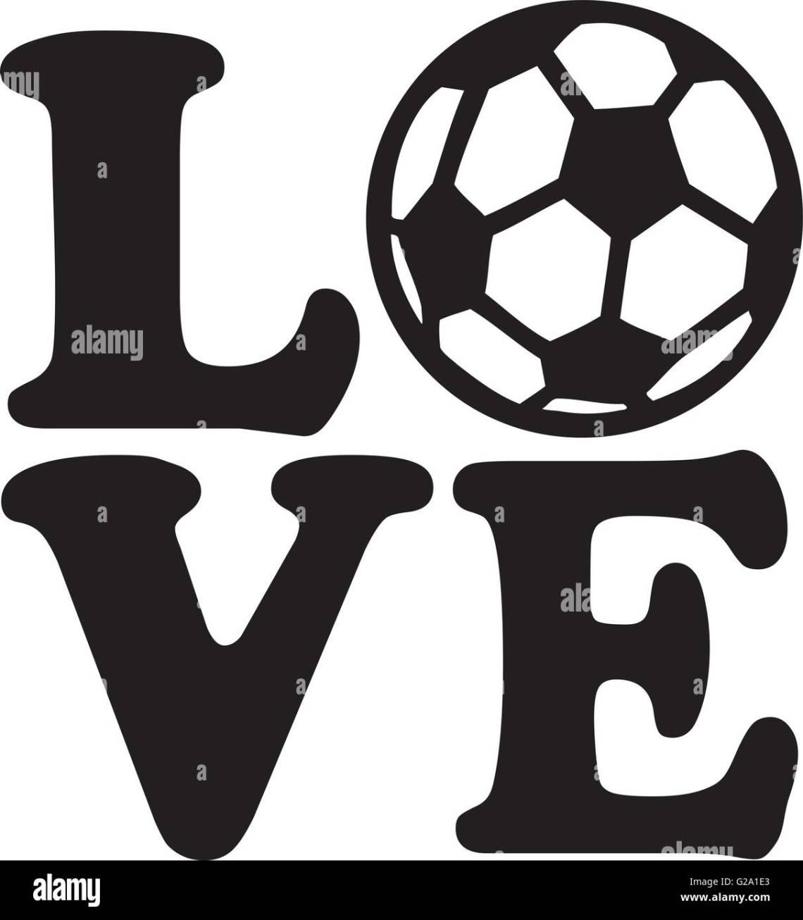 Download Soccer Love Stock Vector Art & Illustration, Vector Image ...