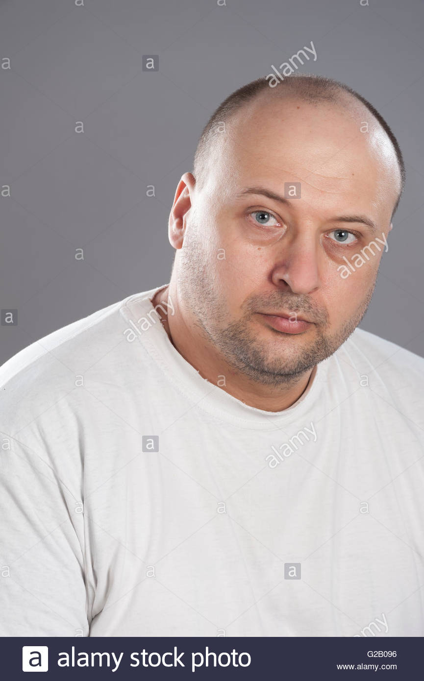 Bald White Guy 40 Years Old