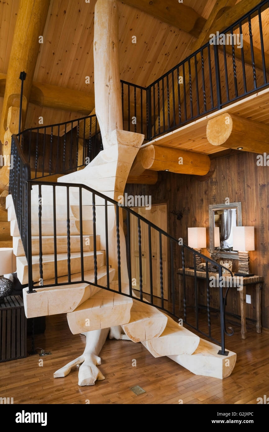 Bleached Wooden Stairs Black Wrought Iron Railing In Living Room | Wood And Rod Iron Railing | Wooden | Dark Stained | Wrought Iron | Pipe | Simple Modern