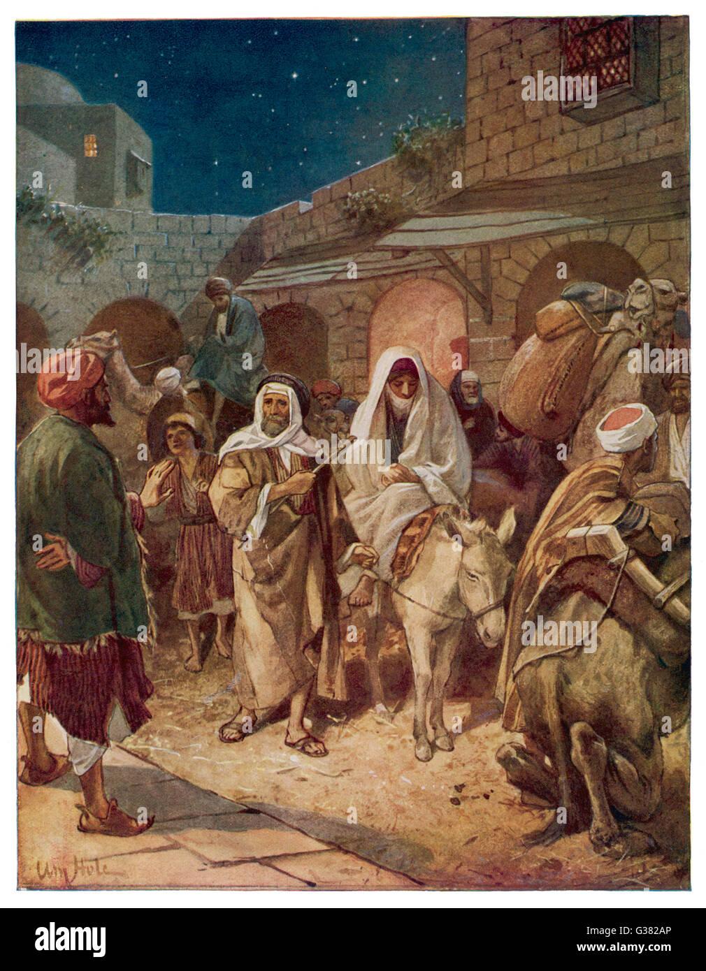 Joseph Mary Bethlehem Donkey High Resolution Stock Photography And Images Alamy