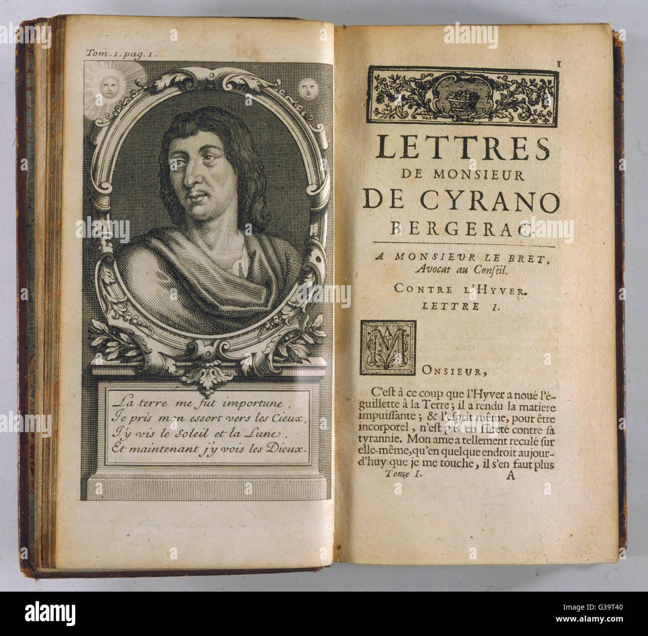 Savinien De Cyrano De Bergerac French Poet And Sol R