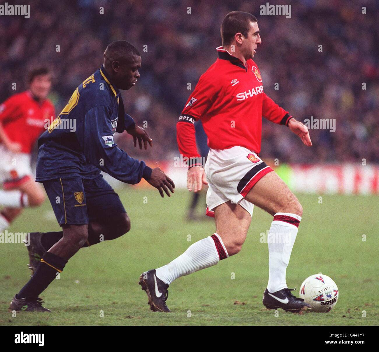 Check out this fantastic collection of eric cantona wallpapers,. Wimbledon Eric Cantona High Resolution Stock Photography And Images Alamy