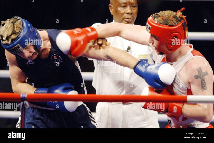 Australia Commonwealth Games Boxing Stock Photo  108981770   Alamy Australia Commonwealth Games Boxing