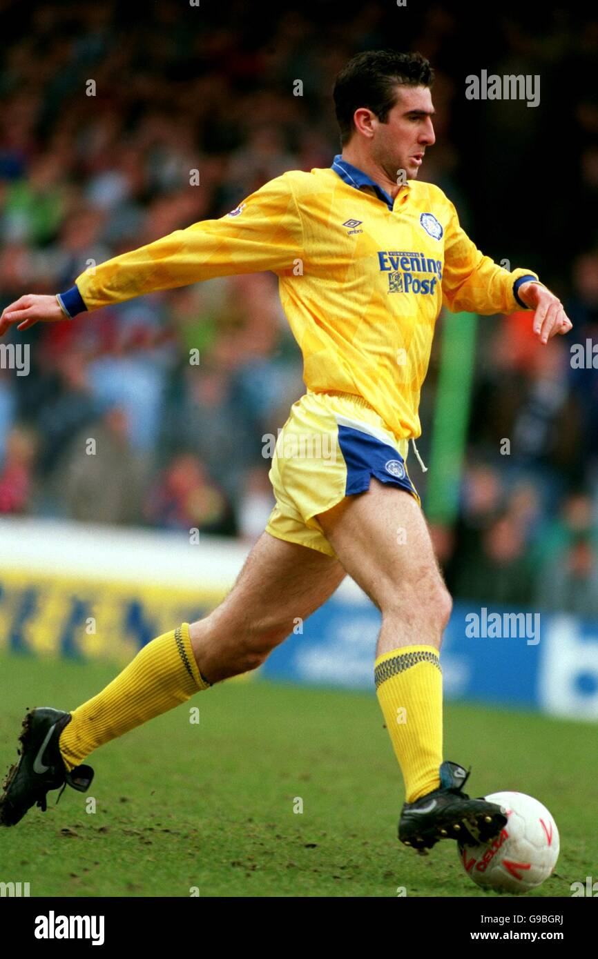 View the player profile of manchester united forward eric cantona, including statistics and photos, on the official website of the premier league. Eric Cantona Leeds United Stock Photo Alamy