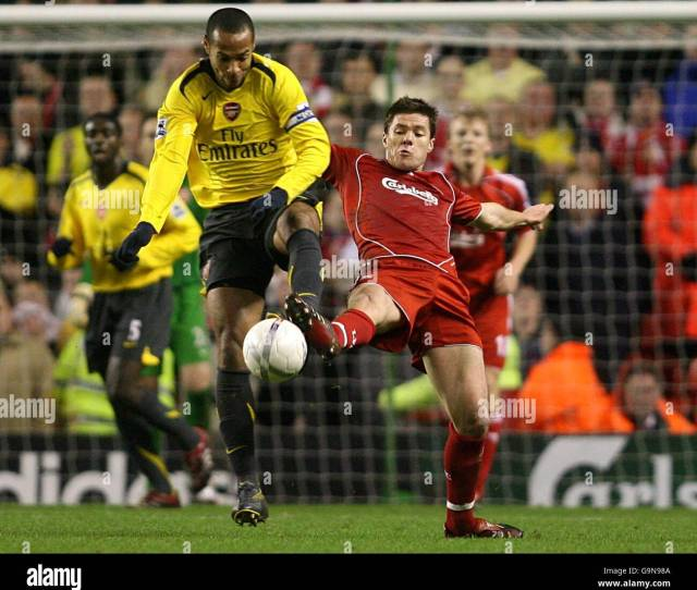Soccer Fa Cup Third Round Liverpool V Arsenal Anfield