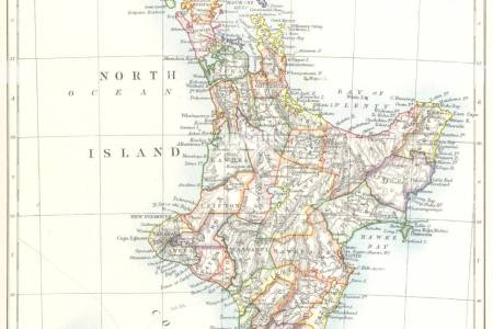 Best world and country maps » map of nas north island | World and ...