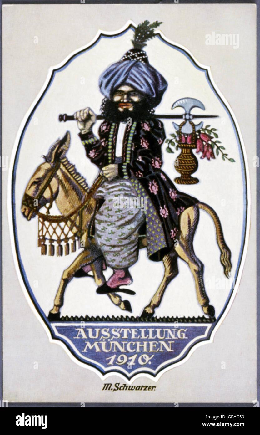https www alamy com stock photo exhibitions exhibition munich 1910 advertising poster design m schwarzer 110628821 html
