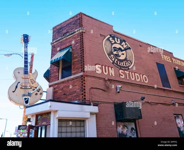 Sun Record Studio In Memphis Stock Photos & Sun Record ...