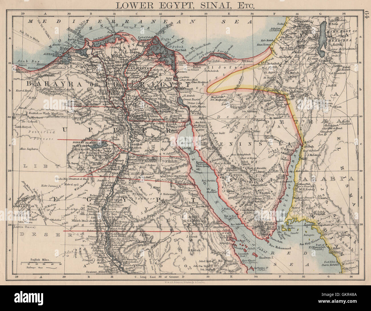 Map Of The Nile Delta Stock Photos Amp Map Of The Nile Delta Stock Images
