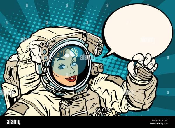 Cartoon Female Astronaut Stock Photos & Cartoon Female ...