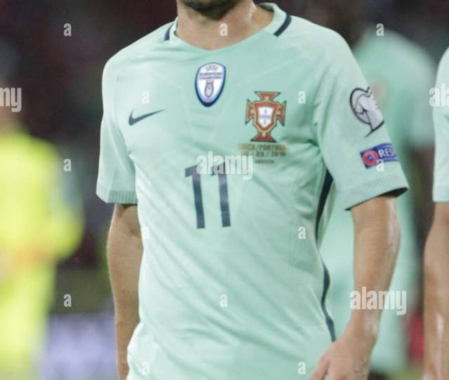 Bernardo Silva In Action During The Qualifying Match Of
