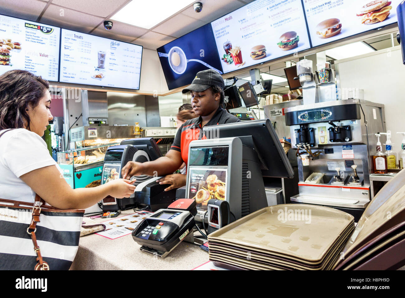 Vero Beach Florida Mcdonald S Restaurant Fast Food