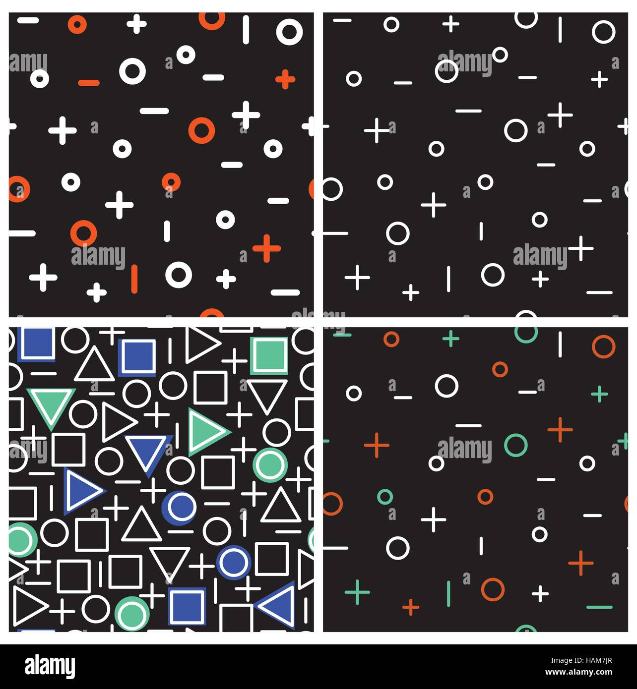 Basic Math Stock Vector Images