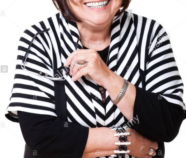 Senior Smiling Woman Stock Image