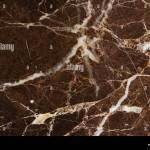 White Patterned Detailed Natural Of Dark Brown Marble Texture For Stock Photo Alamy