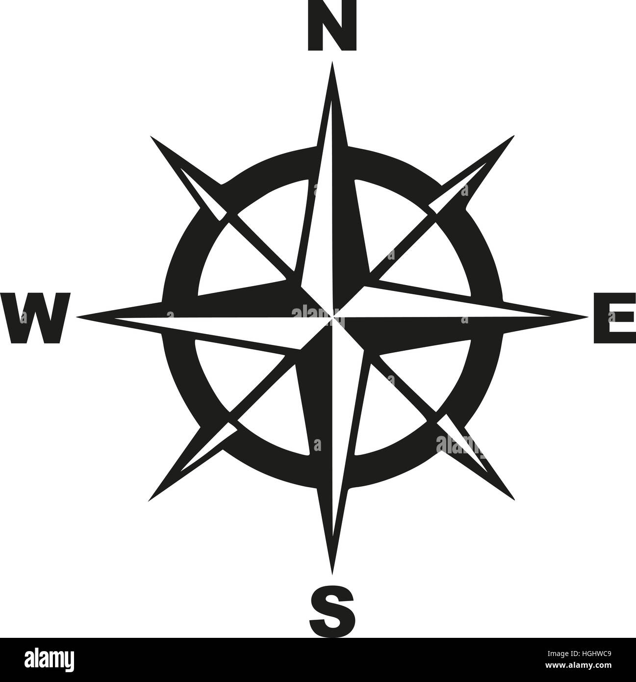 Compass with north south east west Stock Photo - Alamy on ( ̄︶ ̄)↗  id=78203