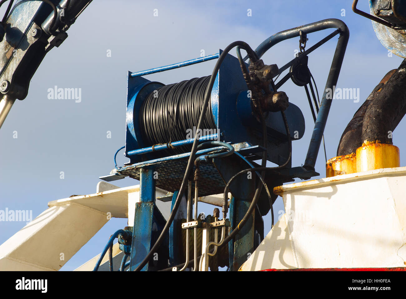 Power Winch Stock Photos Amp Power Winch Stock Images Alamy