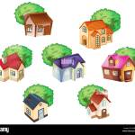 Comic Cartoon Illustrations Tree Trees High Resolution Stock Photography And Images Alamy