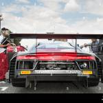Vallelunga Rome Italy September 10th 2016 Audi R8 Backside And Stock Photo Alamy