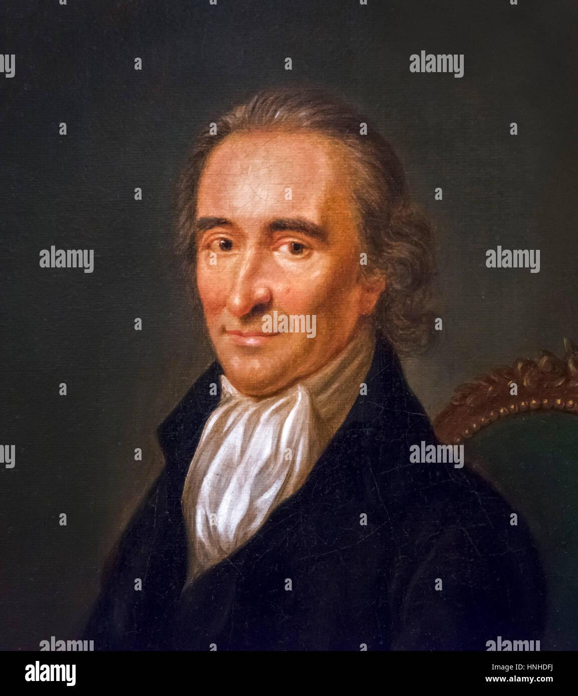 Thomas Paine The English Born Activist And Philosopher