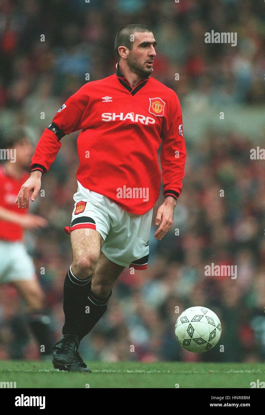 □ cantona var inte bara en ledare, framspelare och målskytt utan även en av. Eric Cantona 1996 High Resolution Stock Photography and ...