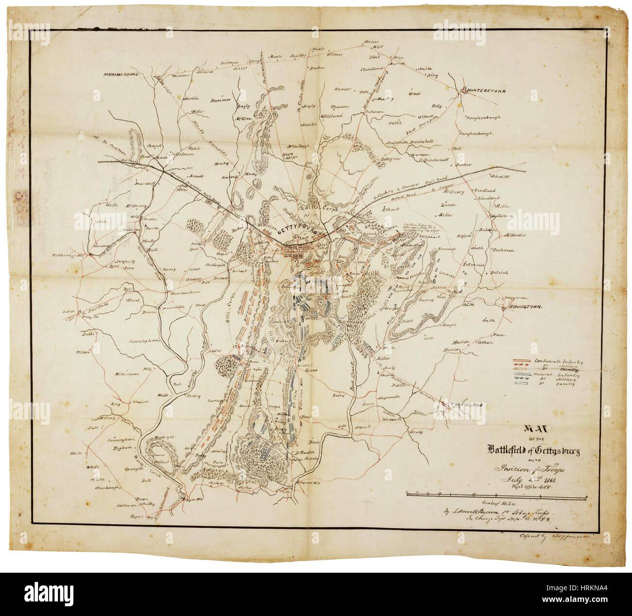 Map Of Civil War Stock Photos Amp Map Of Civil War Stock