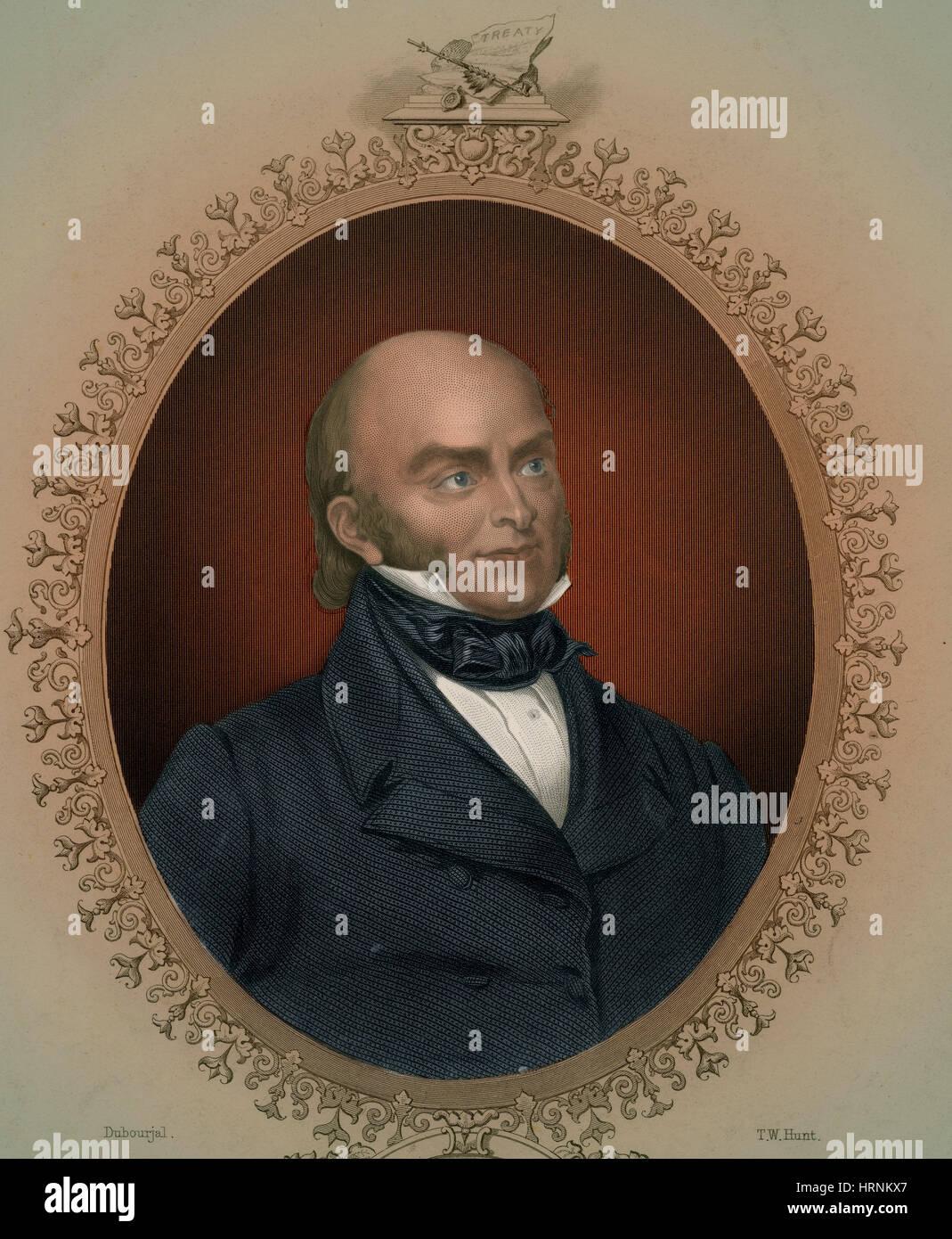 John Quincy Adams 6th U S President Stock Photo Royalty